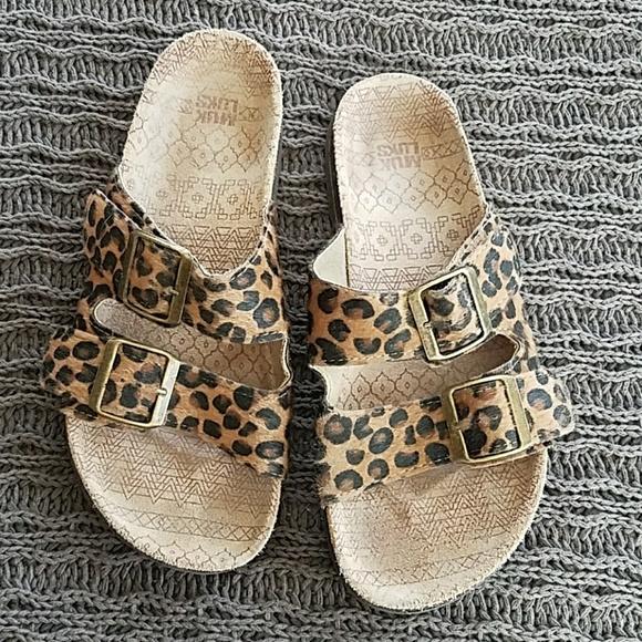 Muk Luks Shoes   Leopard Print Muk Luk
